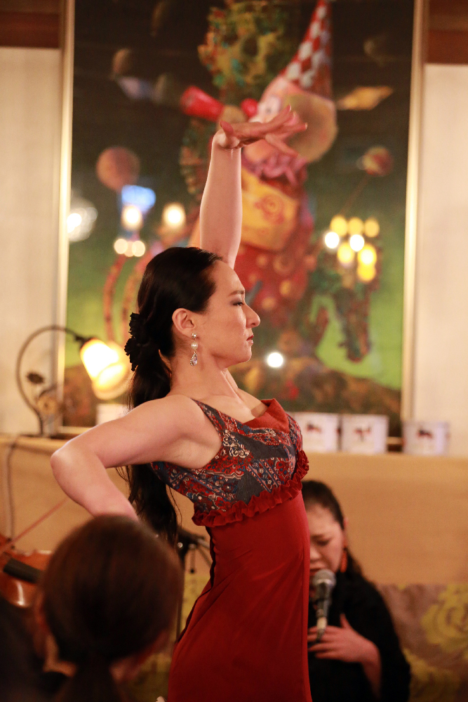 flamenco baile(フラメンコ バイレ) kahomi 木村香美