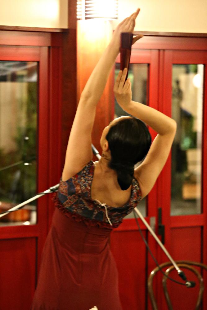 kahomi Flamenco Llive 10th at アンサンブルスクエアーガーデン